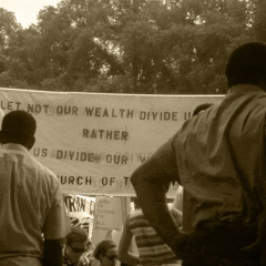 June 1968, DC, MLK Poor People's March
