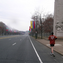 ALW marathon training 12/25/05