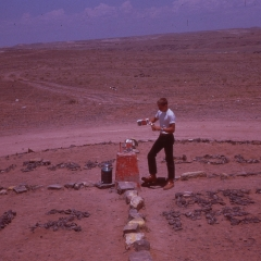 JFW 4 corners monument 1961