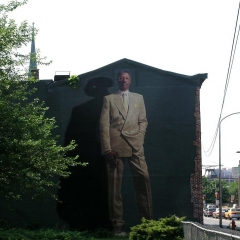 Julius Erving Mural