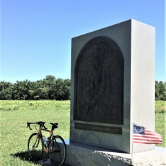Valley Forge NP: Monument to Patriots of African Descent