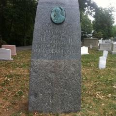 Arlington National Cemetery: John Wesley Powell monument