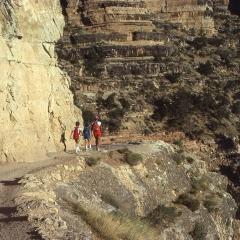 Family trek, 1981 Grand Canyon