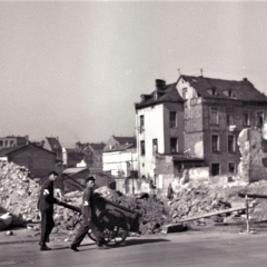 Fred Wehmiller 1950's WWII damage
