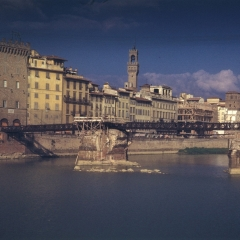 Fred Wehmiller Florence Italy 1953 WWII damage