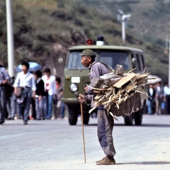 On the road to the Great Wall 1985