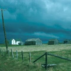 Gathering storm, Nova Scotia 1965